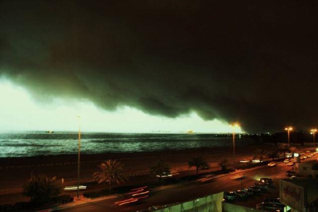 مناطق المملكة بانتظار عاصفة رملية