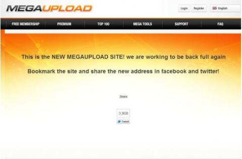 الملفات Megaupload ومصادرة سيارات صاحبه