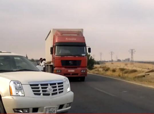 فيديو سيارة سكاليد بلوحات كويتية