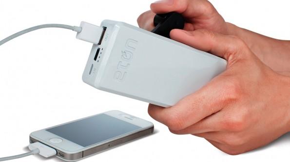 شاحن اضافي يدوي للهواتف الذكية