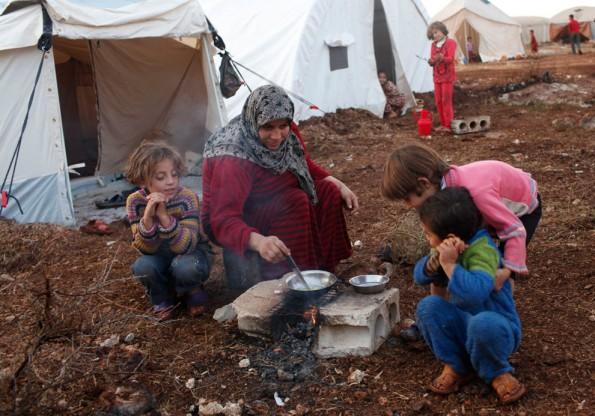 سوريا المعاناة الدمار التشريد صورة