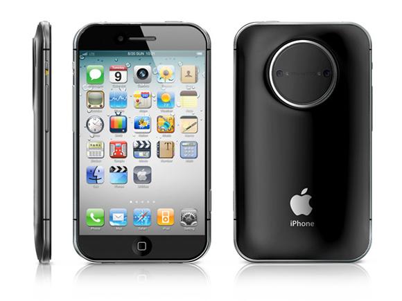 iPhone تصميم تخيّلي لكاميرا احترافية