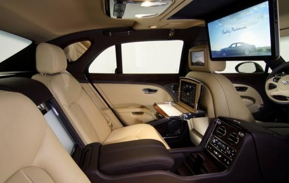سيارة بنتلي مولسان 2013 حينما