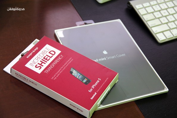 شراء حماية للآيفون5 وغطاء للآيباد