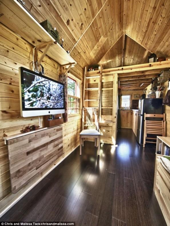 بالصور أشهر لبناء متنقّل الخشب