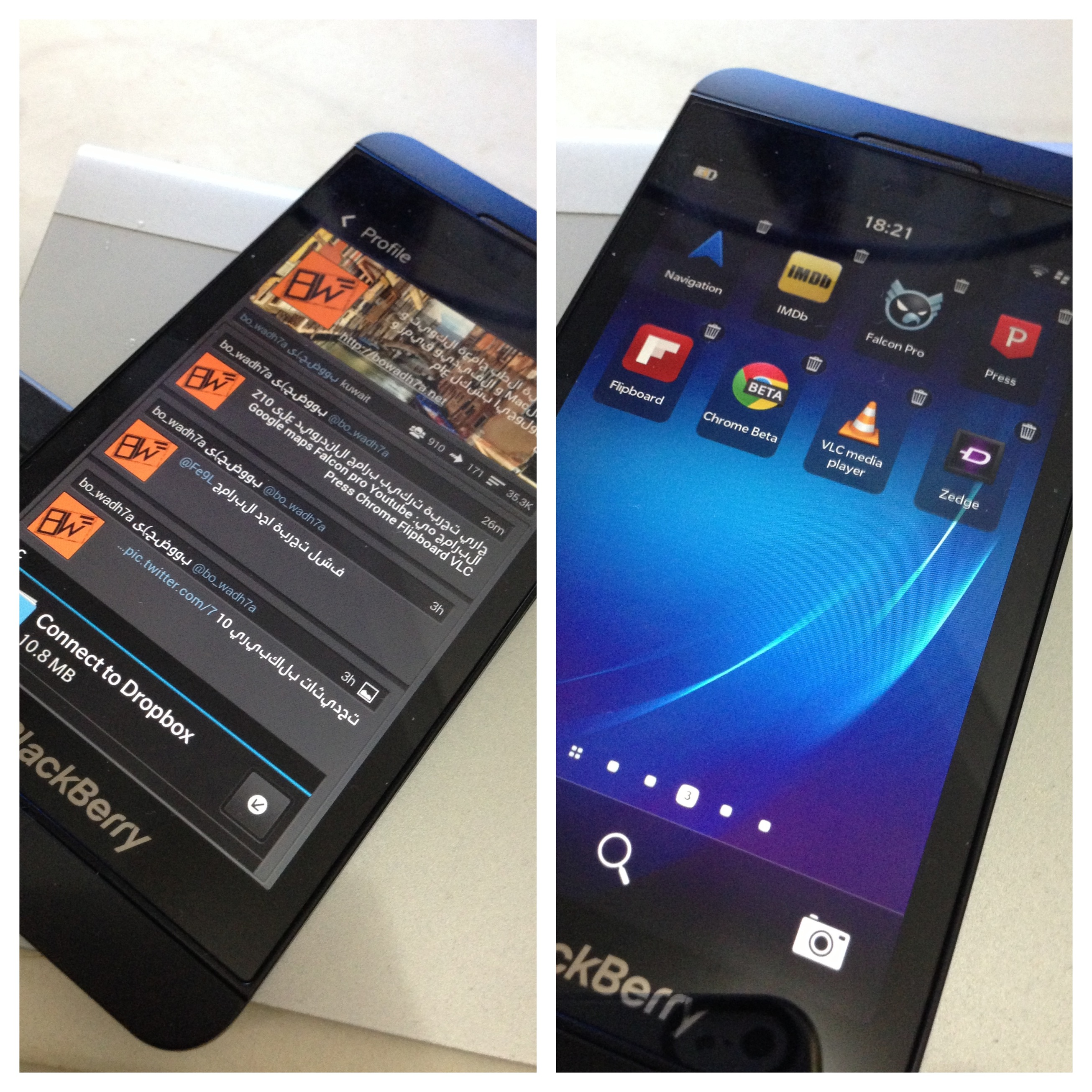 Android apps on Z10