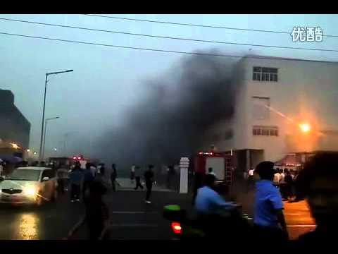 إنفجار في مصنع الـ ipad2 في الصين
