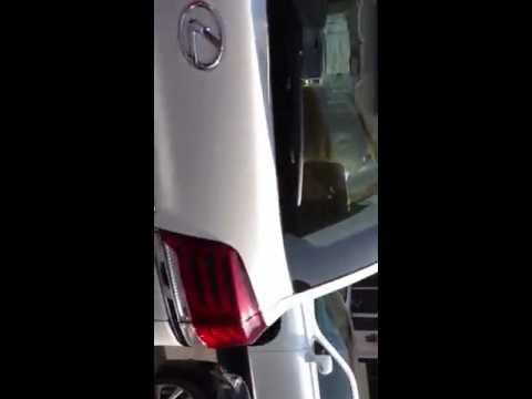فيديو : خروج ( الايرباق ) في جيب لكزس 2014 في السعودية بدون سبب او حادث !
